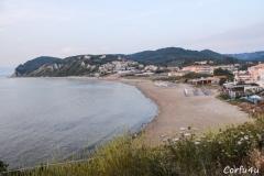 Agios Stefanos (West) is a long sandy beach.