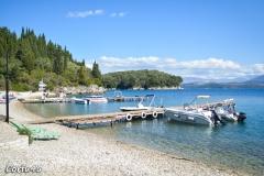 At Agni you will find a few boat rentals.