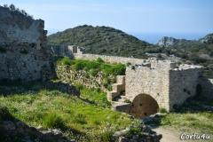 Ruins of Angelokastro.