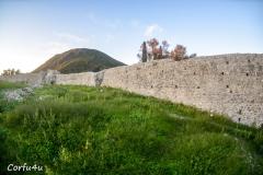 Gardiki castle defended the island before the Venetian era.
