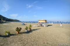 Nice sandy beach. Ideal for families with children.